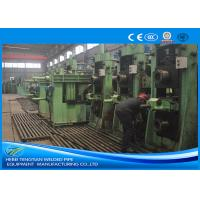 Carbon Steel Square Tube Mill Adjustable Size High Frequency Welding Manufactures