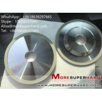 China 4A2 The ceramic binder diamond cutter grinds the grinding wheel  Alisa@moresuperhard.com on sale