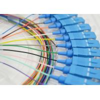 China 12 Cores SC Singlemode Optical Fiber Patch Cord For Optical Test Equipment on sale