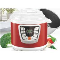 Round Shape Electric Pressure Cooker Energy Saving Fully Sealed Structure Manufactures