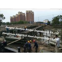 China Chinese Steel Fabricator Supply Prefabricated Steel Structural Bailey Bridge Of Reinforced Steel Q345 on sale