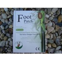 China Bamboo Vinegar Foot Detox Patches Herbal gold blue CE FDA UK on sale