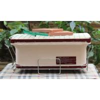 Portable BBQ Ceramic Cooker Grill , Mini Clay Ceramic Outdoor Grill Custom Made Manufactures