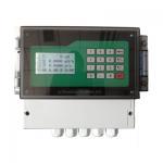 Clamp On High Temperature Ultrasonic Flow Meter Ultrasonic Liquid Measurement Manufactures