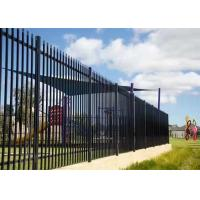 Decorative Garden Stainless Steel Fence / Gate With Anti - Theft Screws Manufactures