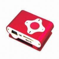 MP3 Player, Shuffle, Clip on Back, Cross Button, Supports microSD Card (TF Card) Manufactures