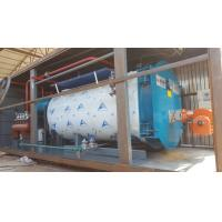 10Ton Gas Fired Boiler Efficiency Wet Back Structure  Industrial Boiler Use In Milk Factory Manufactures