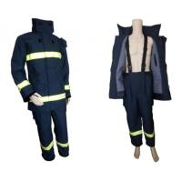 EN469 standard Nomex fire fighting suit Manufactures