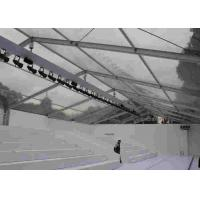 Transparent Large Commercial Tents Waterproof For Outside Event , 12m Manufactures