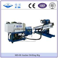 MD-80A Small Size Anchor Drilling Mining Exploration Drilling DTH Hammer Drill Water Well Drill Micropile Drill Manufactures