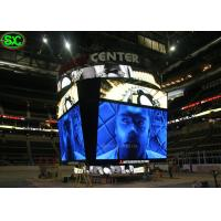 China Square LED Perimeter Advertising Boards, P5 Stadium led display For Live Show on sale