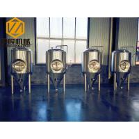 IPA STOUT Hotel / Home Beer Brewing Equipment With 2 Sanitary Wort Pump Manufactures