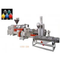 Buy cheap Double Stage Filler Masterbatch Production Line Temperature Control System from wholesalers