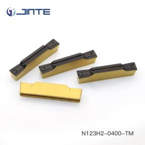 Tungsten Carbide Grooving Insert N123H2-0400-TM Hard Metal Machining Manufactures
