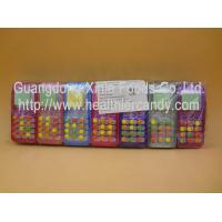 Colored Glucose Novelty Candy Toys , Small Round Funny Candy Sweets Manufactures