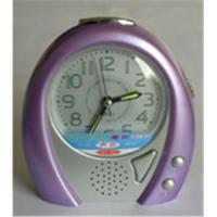 China Recording alarm clock on sale