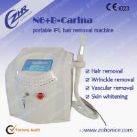 China Skin Rejuvenation Portable IPL Hair Removal Machines With Touch Screen on sale