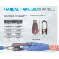 Buy cheap Mandal fairlead shackle,Marine mooring shackle, Marine mooring shackle for wire from wholesalers