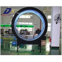 Round 7.62m RGB Flexible LED Screen Electronic Display Board 1R1G1B Manufactures