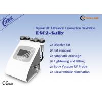 Bipolar RF Sound Fat Loss Machine 40KHZ With Supersonic Operation System Manufactures
