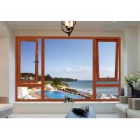 Luxury Homes Wood Aluminium Windows Environment Protective Easy To Install Manufactures