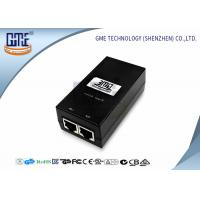 12v 800MA POE Power Adapter Black Ethernet Power Adaptor 47Hz - 63Hz Manufactures