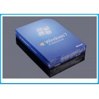MS Windows 7 Professional Box , Windows 7 Professional Retail Pack With 1 SATA Cable Manufactures
