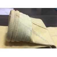 DN 130 x 6000 mm Industrial Dust Filter Bags Widely Used In Dry GCP System Manufactures