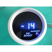 Blue Red Light Universal Auto Gauges , Turbo Digital Gauges For Cars Manufactures
