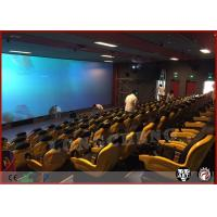 Hydraulic System 5D Movie Theatre Simulator 3Dof 6Dof With 48 Seats Manufactures