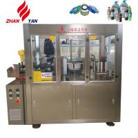 Hot Melt Glue Labeling Machine / Packaging Machine For 300ml Glass Bottles Manufactures