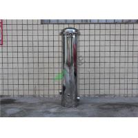 China High Pressure Stainless Steel Water Filter Housing With 5 Um PP Filter on sale