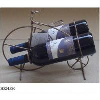China Modern design excellent quality metal red wine rack on sale