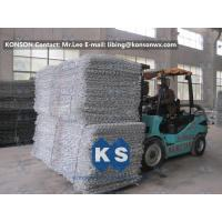 Double Twisted Gabion Box Retaining Wall Structure Wire Diameter 2.7mm Manufactures