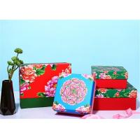 Chinese Traditional Style Custom Paper Gift Box With Brightly Painted Manufactures