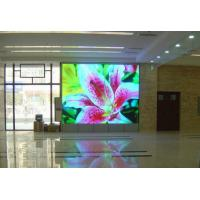 P7.62 vivid LED indoor full color display   MBI5024 , programmable led message board Manufactures