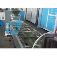 Large Capacity Waste Plastic Recycling Line Plastic PVC / PET Granules Manufacturing Manufactures