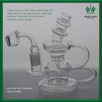5 Inches Colorful Klein Oil Oil Rig Bubbler Clear Recycler Water Smoking Pipe Manufactures