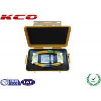 Fiber Optical OTDR Launch Cable Box Distance 2km With SC Connector Manufactures
