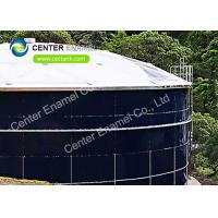 Aluminum Roof  Stainless Steel Bolted Tanks / Potable Water Storage Tanks Manufactures