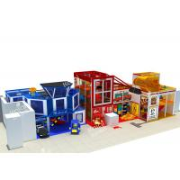 Police Station Series Indoor Playground Equipment To Bring Kids Happiness Health And Wisdom Manufactures