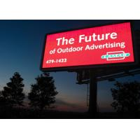 7000 Nit Brightness Outdoor Programmable LED Message Board 5mm Pixel Pitch Manufactures