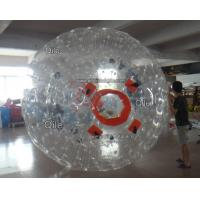 Customized Inflatable Zorb Ball Field , Zorbing Ball Track With PVC Tarpauline Manufactures