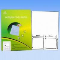 Buy cheap Adhesive Integrated Labels, Used as Invoice Labels, Made of 70 to 90g Vellum from wholesalers