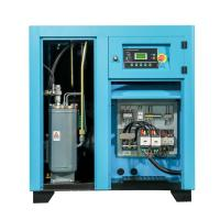 Slient Electric Rotary Screw Air Compressor / Small Belt Driven Air Compressor Manufactures
