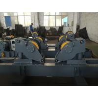 Quality Grey Rubber Vessel Hydraulic tank fit up rolls for Boiler Welding , 2 x 1.1kw Motor Power for sale