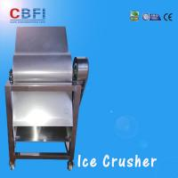 CBFI Stainless Steel 304 Ice Crusher Machine For Bars / Fast Food Shops Manufactures