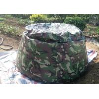 3000 Liters Bladder Fuel Tank , Collapsible Water Storage Tank Small Folded Sizes Manufactures
