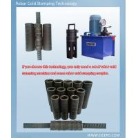 Buy cheap OCEPO Cold stamping rebar coupler 16-40mm Use Q435B as raw material from wholesalers