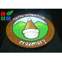 Single Sided LED Outdoor Light Box 35W Power Logo Printed For Wall Mounted Manufactures